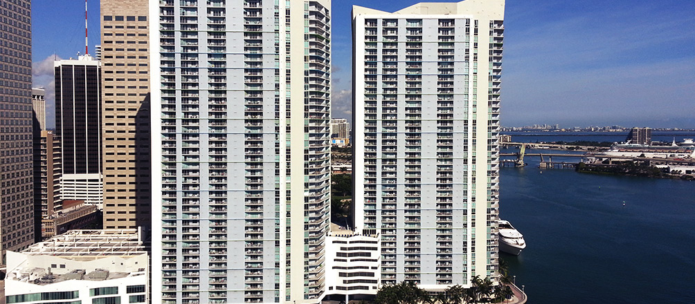 One Miami East and West Towers