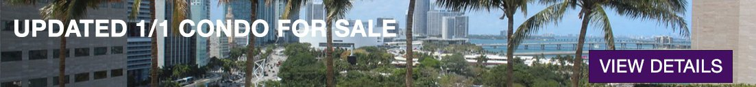Waterfront One Miami Unit for Sale