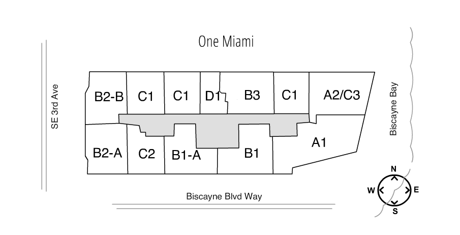 One Miami Floorplan Layout